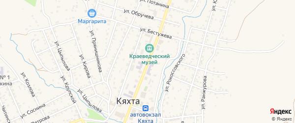 Улица Ленина на карте Кяхты с номерами домов
