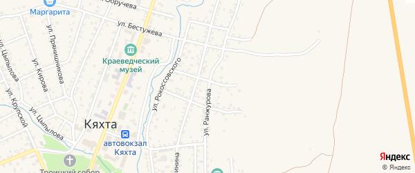 Улица Ранжурова на карте улуса Цаган-Челутай с номерами домов