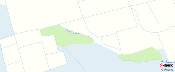 Карта местечка Еловки в Бурятии с улицами и номерами домов