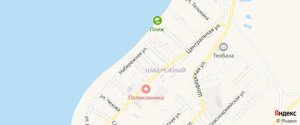 Улица Ломоносова на карте Гусиноозерска с номерами домов