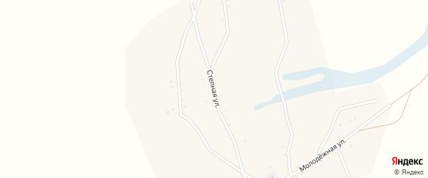 Степная улица на карте улуса Енхор с номерами домов