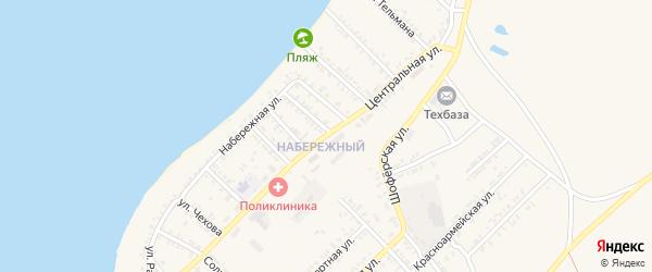 Центральная улица на карте Гусиноозерска с номерами домов