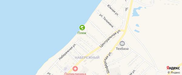 Улица Урицкого на карте Гусиноозерска с номерами домов