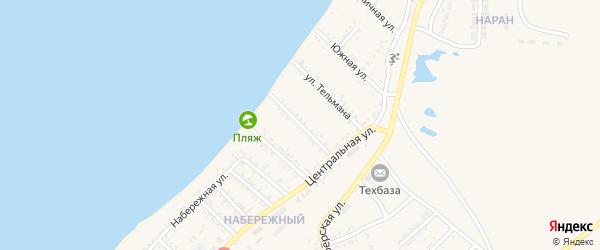 Улица Пржевальского на карте Гусиноозерска с номерами домов