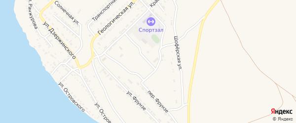 Серединная улица на карте Гусиноозерска с номерами домов
