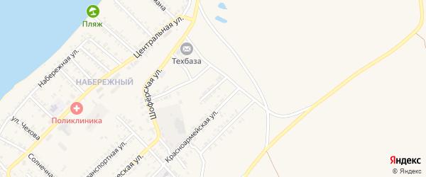 Гвардейская улица на карте Гусиноозерска с номерами домов