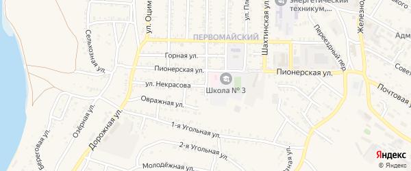 Улица Некрасова на карте Гусиноозерска с номерами домов