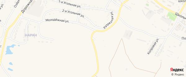 Луговая улица на карте Гусиноозерска с номерами домов