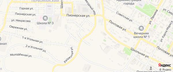Локомотивная улица на карте Гусиноозерска с номерами домов