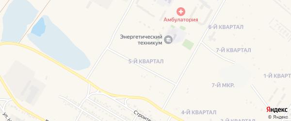 5-й квартал на карте 7-й микрорайона с номерами домов