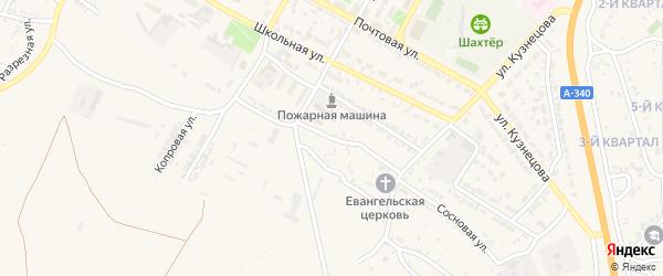 Запожарная улица на карте Гусиноозерска с номерами домов