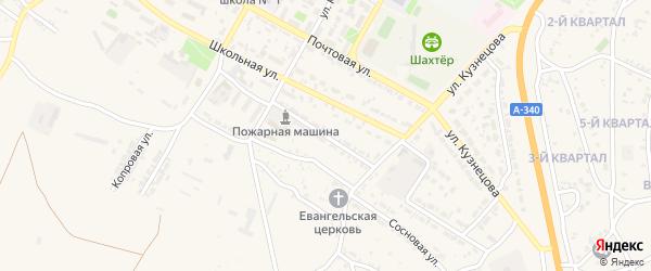 Фабричная улица на карте Гусиноозерска с номерами домов