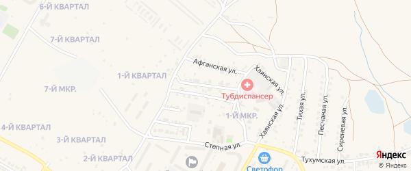 Байкальская улица на карте Гусиноозерска с номерами домов