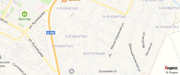 7-й квартал на карте 7-й микрорайона с номерами домов