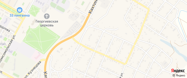 9-й квартал на карте Восточного поселка с номерами домов