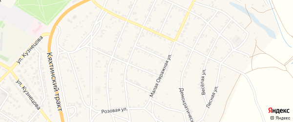 12-й квартал на карте Солнечного поселка с номерами домов