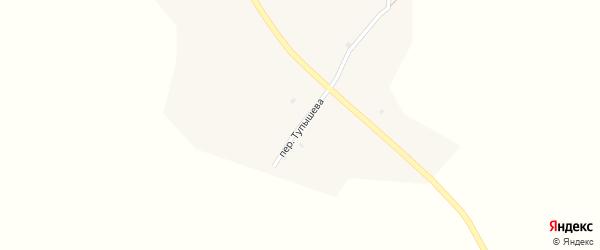 Переулок Тупышева на карте села Малое Колесово с номерами домов