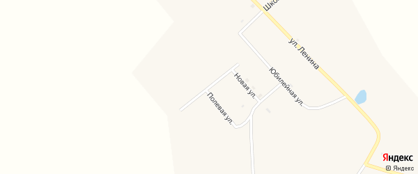 Солнечная улица на карте села Большое Колесово с номерами домов