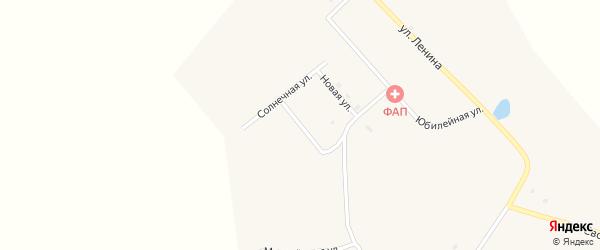 Полевая улица на карте села Большое Колесово с номерами домов
