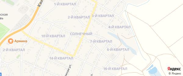 7-й квартал на карте поселка Тухума с номерами домов