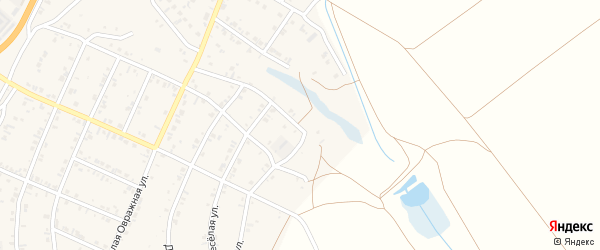 6-й квартал на карте Солнечного поселка с номерами домов