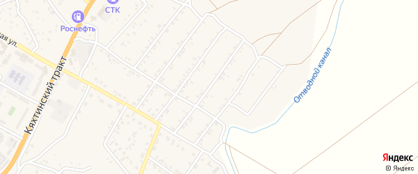 4-й квартал на карте поселка Тухума с номерами домов