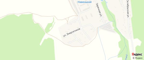 Совхозная улица на карте села Тимлюя с номерами домов