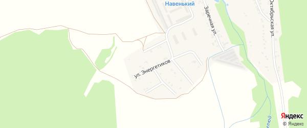 Территория МТФ на карте села Тимлюя с номерами домов