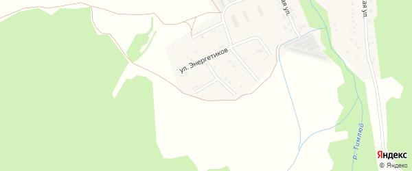 Березовая улица на карте поселка Каменска с номерами домов