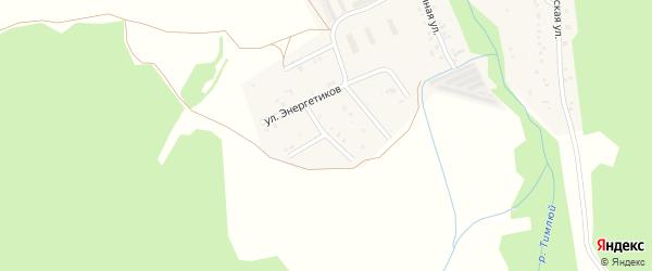 Таежная улица на карте поселка Каменска с номерами домов
