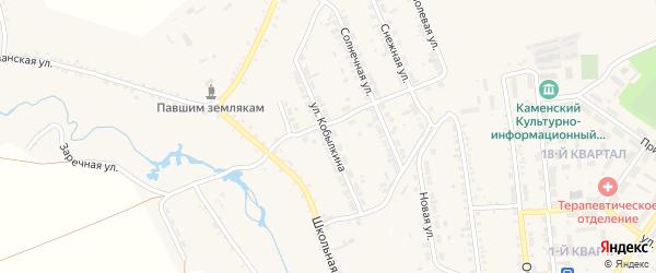 Улица Кобылкина на карте села Тимлюя с номерами домов