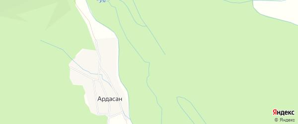 Карта поселка Убукуна в Бурятии с улицами и номерами домов