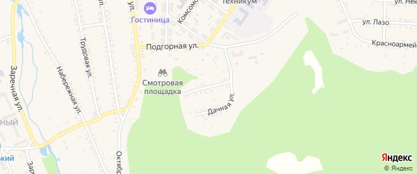 Улица Пушкина на карте поселка Каменска с номерами домов