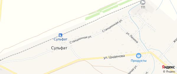 Станционная улица на карте Тохой улуса с номерами домов
