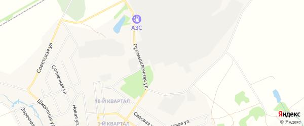 Карта поселка Каменска в Бурятии с улицами и номерами домов