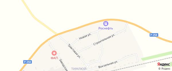 Новая улица на карте поселка Каменска с номерами домов