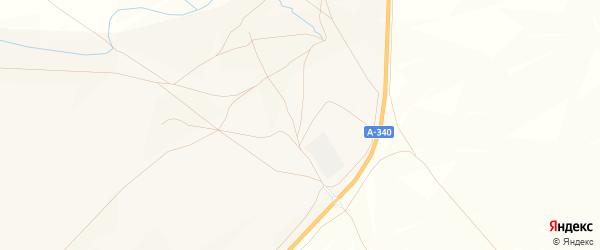 Местность Дэлэн на карте Тохой улуса с номерами домов