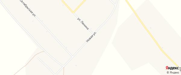Новая улица на карте села Корсаково с номерами домов