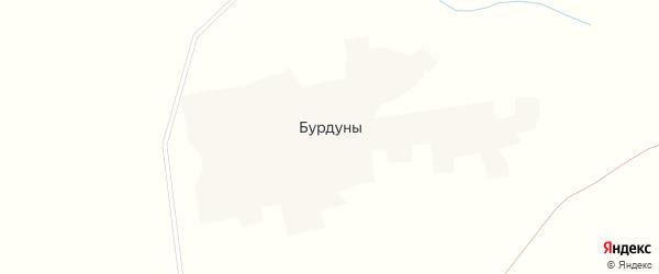 Центральная улица на карте улуса Бурдуны с номерами домов