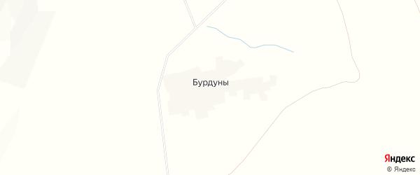 Карта улуса Бурдуны в Бурятии с улицами и номерами домов