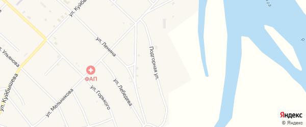 Подгорная улица на карте поселка Новоселенгинска с номерами домов