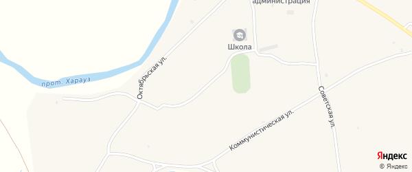 Строительная улица на карте села Кудары с номерами домов