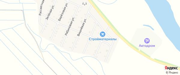 Цветочная улица на карте села Кабанск с номерами домов