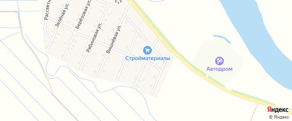 Черёмуховая улица на карте села Кабанск с номерами домов