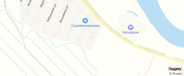 Яблоневая улица на карте села Кабанск с номерами домов