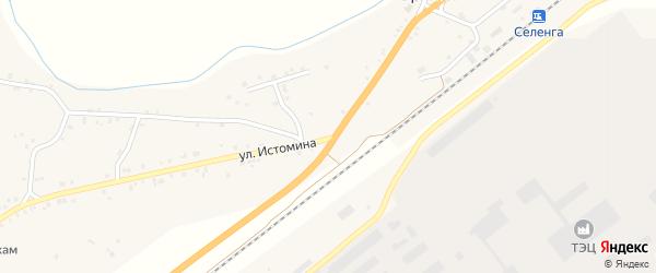 Улица Истомина на карте села Брянска с номерами домов