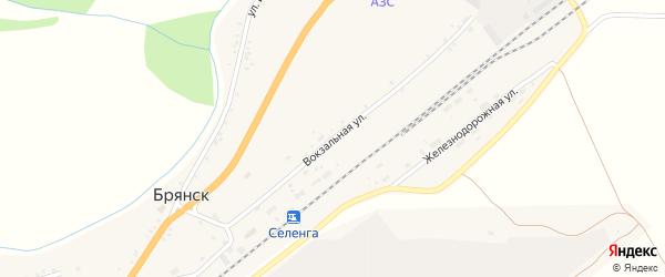 Вокзальная улица на карте Бабушкина с номерами домов