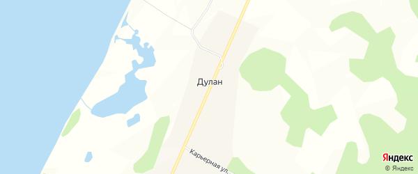 Дачное некоммерческое партнерство ДНТ Штиль на карте улуса Дулан с номерами домов