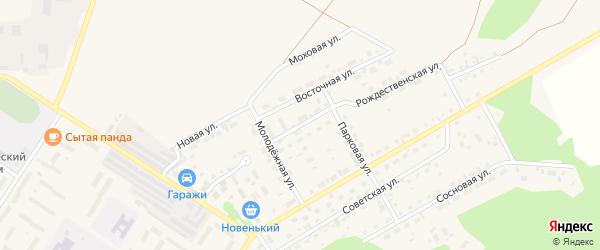 Нагорная улица на карте поселка Селенгинска с номерами домов