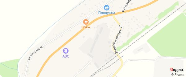 1-й переулок на карте села Брянска с номерами домов